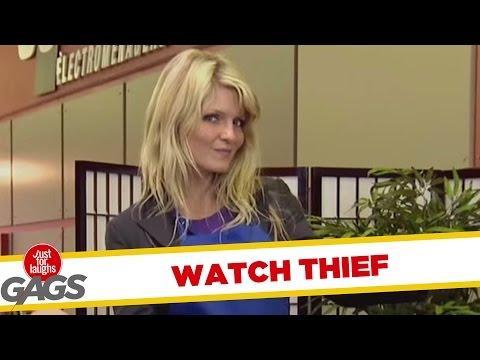 Mysterious Stealing Girl Prank