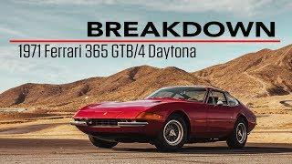 Breakdown   1971 Ferrari 365 GTB/4 Daytona