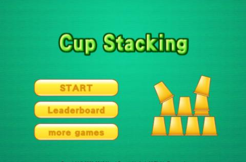 Free Game: Cup Stacking