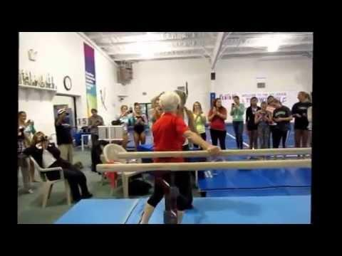 Johanna Quaas - Oldes Gymnast In The World