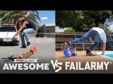 Gymnasts & More Video | People Are Awesome Vs. FailArmy!