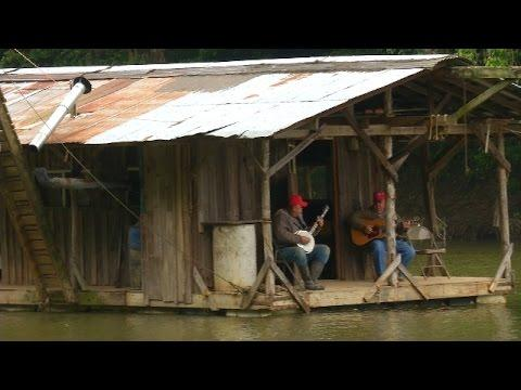 Hillbilly Houseboat - Hilarious, Bologna, Cat Fishing And Bluegrass Music