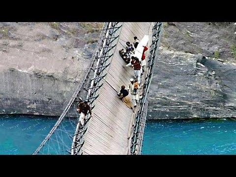 Never Visit These Places! 9 Scariest and Most Dangerous Bridges in the World