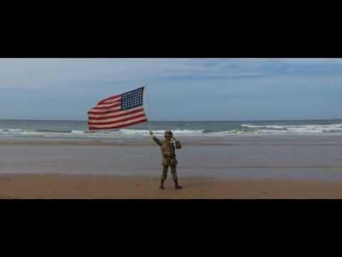 Project Vigil: D-Day 2014, The saluting boy on Omaha beach #Video