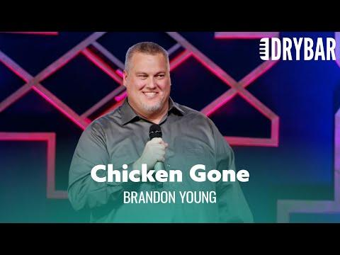 Don't Eat All The Chicken At A Barbecue. Brandon Young #Video