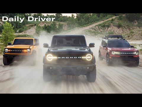 2021 Ford Bronco Details and Video, Used Car Prices Jump, Cadillac Names - Daily Driver
