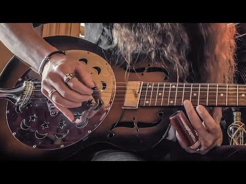 SON OF A WITCH VIDEO | DARK SWAMP BLUES on the Dobro Duolian Resonator Guitar
