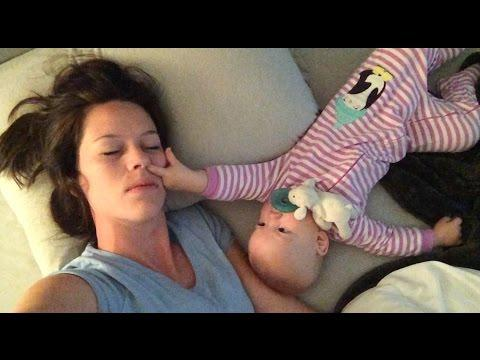 Why Co-Sleeping With Baby Is Really No-Sleeping At All!