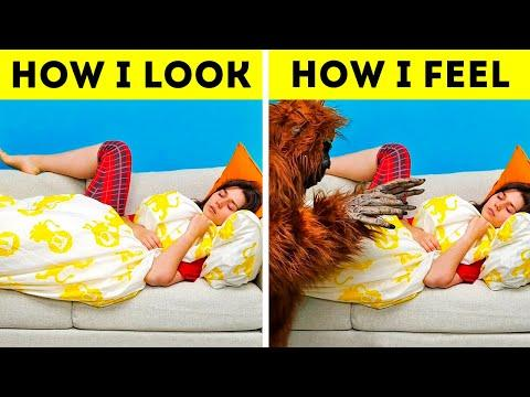 31 SITUATIONS YOU DEFINITELY KNOW || RELATABLE FAILS AND FEARS