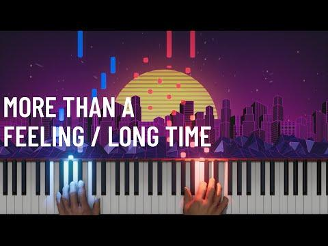 Boston - More Than A Feeling / Long Time (Piano/Cello Video) - The Piano Guys