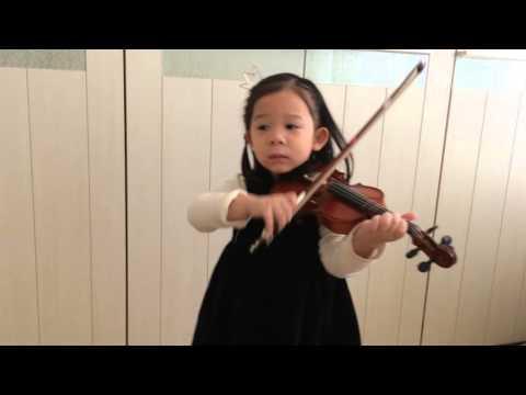 Vivaldi Violin Concerto a minor 1st Mvt. (Suzuki Violin 4) - YoEun Seol Video