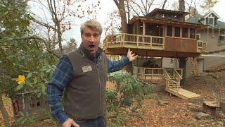 This Glamping-Themed Treehouse Is A Luxurious Getaway Right In The Backyard!