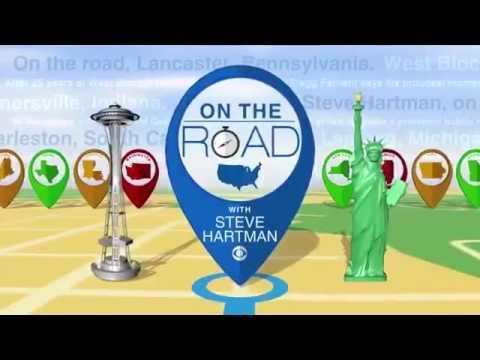 Steve Hartman On the road