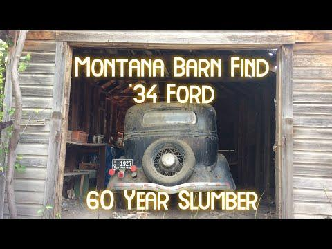 1934 Ford Montana Barn Find #Video