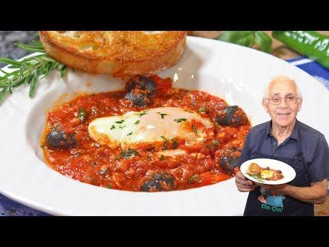 Eggs alla Puttanesca Recipe