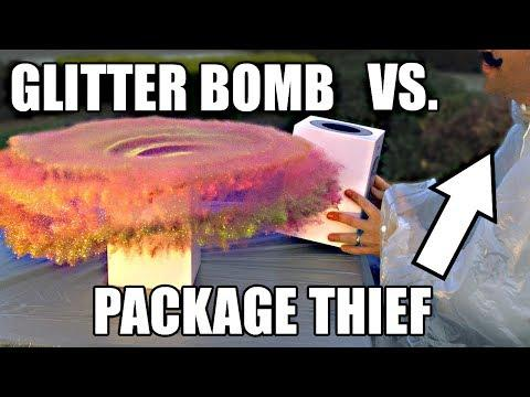 Package Thief REVENGE ( Can You Say Glitter Bomb? )