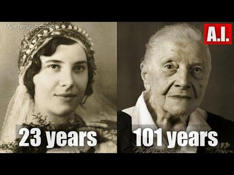 Then And Now Photos of 100 Year Old People | Faces Of Century #Video