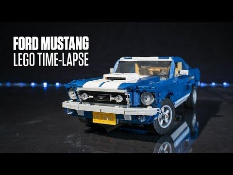 LEGO Ford Mustang 10265 Time-Lapse Build