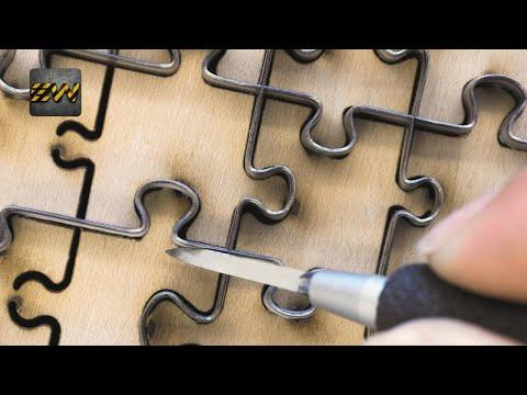 How Jigsaw Puzzles Are Made? (Mega Factories Video)