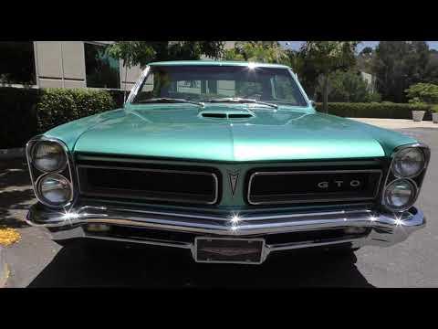 1965 Pontiac GTO Tri-Power 4-Speed 455 V8 600hp Resto-Mod #Video