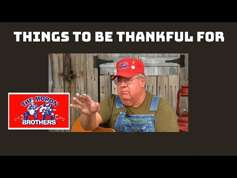 The Moron Brothers Share Things to Be Thankful For #Video