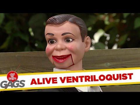 Ventriloquist's Dummie Comes ALIVE !