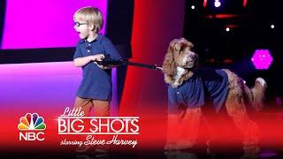 Little Big Shots - Reagan and Buddy (Episode Highlight)