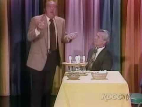 Egg Trick - Johnny Carson And Dom Deluise