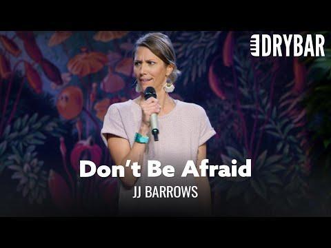 You Shouldn't Be Afraid Of Getting Older Video. Comedian JJ Barrows
