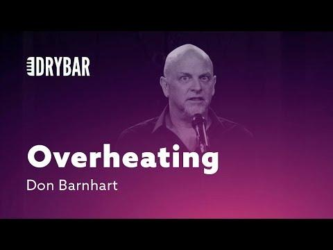 Cuddling Leads To Overheating. Don Barnhart