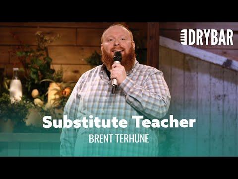 The Worst Day Of Substitute Teaching Video. Comedian Brent Terhune