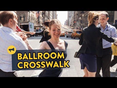 Surprise Ballroom Dancing In A Busy NYC Crosswalk