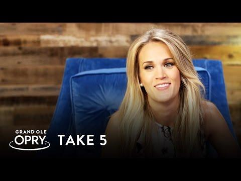 Carrie Underwood | Take 5 | Opry