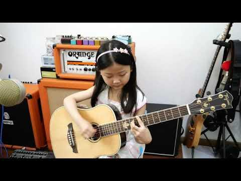 Can't Take My Eyes Off You Video | 2020 Age6 - Miumiu Guitargirl