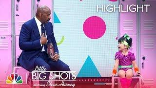 Little Big Shots - 5-Year-Old Fitness Instructor (Episode Highlight)