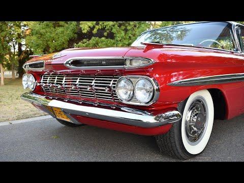 1959 Chevrolet Impala 348 Tri-Power - Mild Resto-Mod #Video