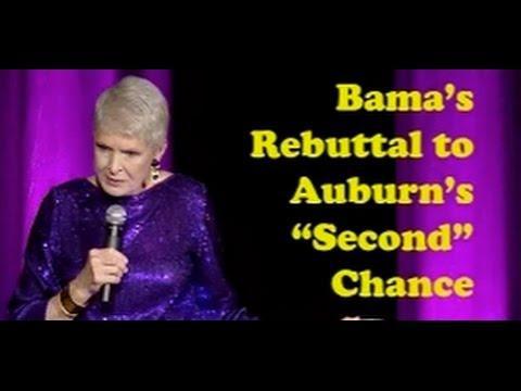 Jeanne Robertson  - Bama's Rebuttal To Auburn's