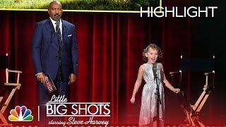 Little Big Shots - Meet the Voice of Agnes from Despicable Me 3 (Episode Highlight)