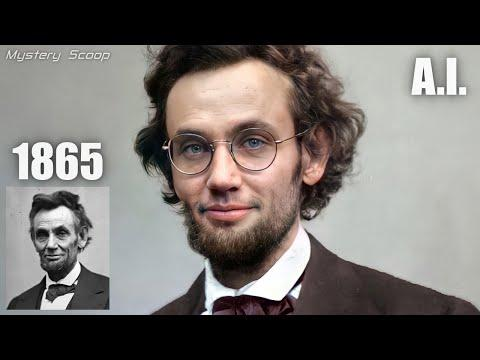 Abraham Lincoln   Historical Figures Animated Using AI Technology #Video