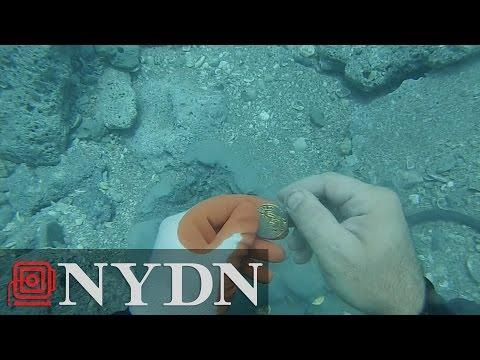 Diver Finds $1 Million In Coins Off Florida Coast