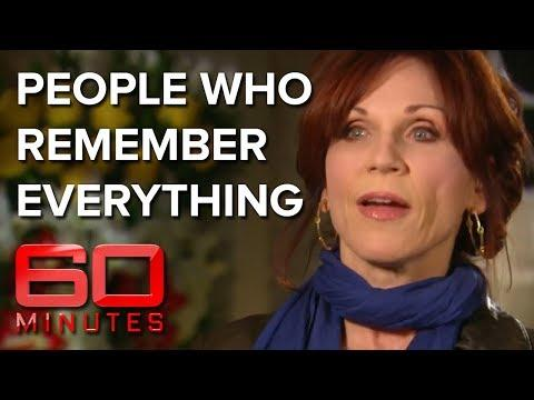 People who remember every second of their life - Total recall  | 60 Minutes Australia