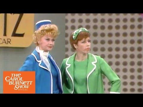 Rental Car Agents from The Carol Burnett Show (full sketch)