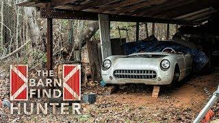 "Barn Find Hunter | Chevy C1 Corvette, a ""baby Ferrari"" and a dusty Abarth collection - Ep. 18"