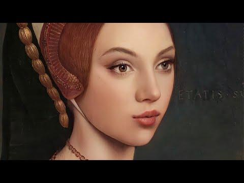 Catherine Howard c.1540s Brought To Life Using AI Technology #Video