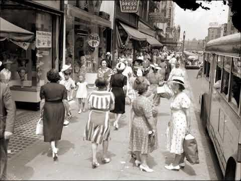 40 Vintage Photos Showing Everyday 1940s Women's Fashions Video