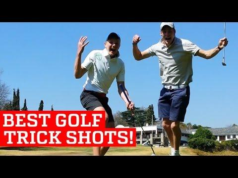 BEST GOLF TRICK SHOTS & PUTTS | PEOPLE ARE AWESOME 2016