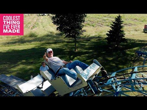 World Famous Home Made Rollercoaster #Video
