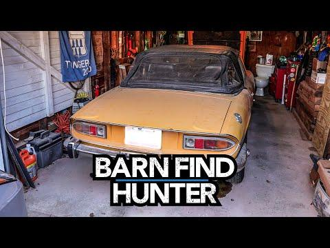 Two Jeep CJ 2As and Three Triumphs in ONE alley | Barn Find Hunter - Ep. 103 #Video