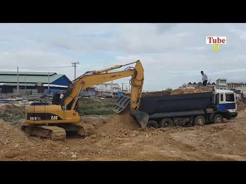 Big Truck gone wrong recovery Excavator