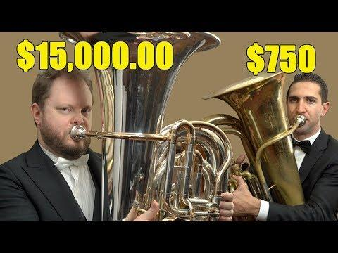 Can You Hear The Difference Between Expensive And Cheap Tubas